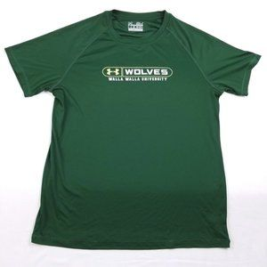 Under Armour Men's Green Athletic T-Shirt S